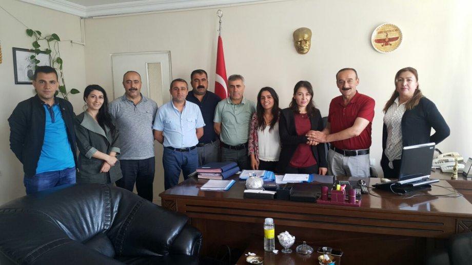 Yüksekova Belediyesi'nde Toplu İş Sözleşmesi İmzalandı