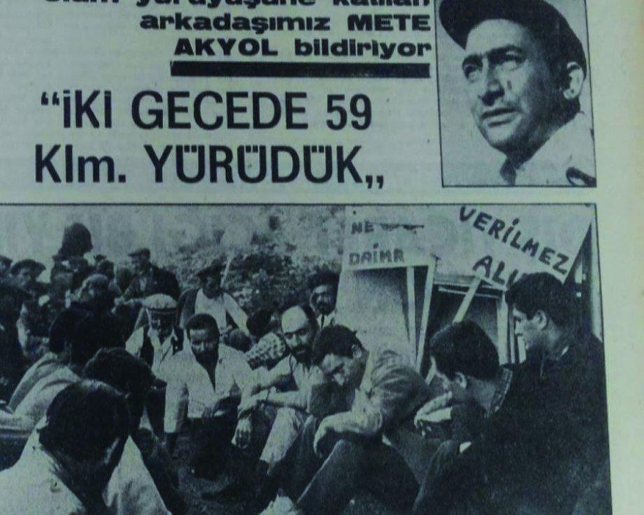 Çorum Belediye İşçilerinin Ankara Yürüyüşünün Gazetecisi Mete Akyol'u Kaybettik