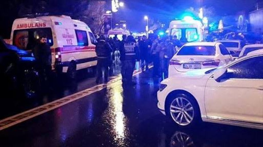 İstanbul'da Yaşanan Katliamı Lanetliyoruz!