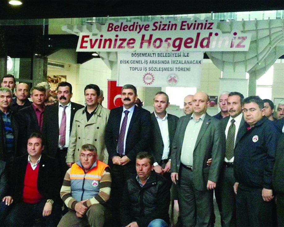 Burdur ve Döşemealtı Belediyelerinde Toplu İş Sözleşmesi Sevinci