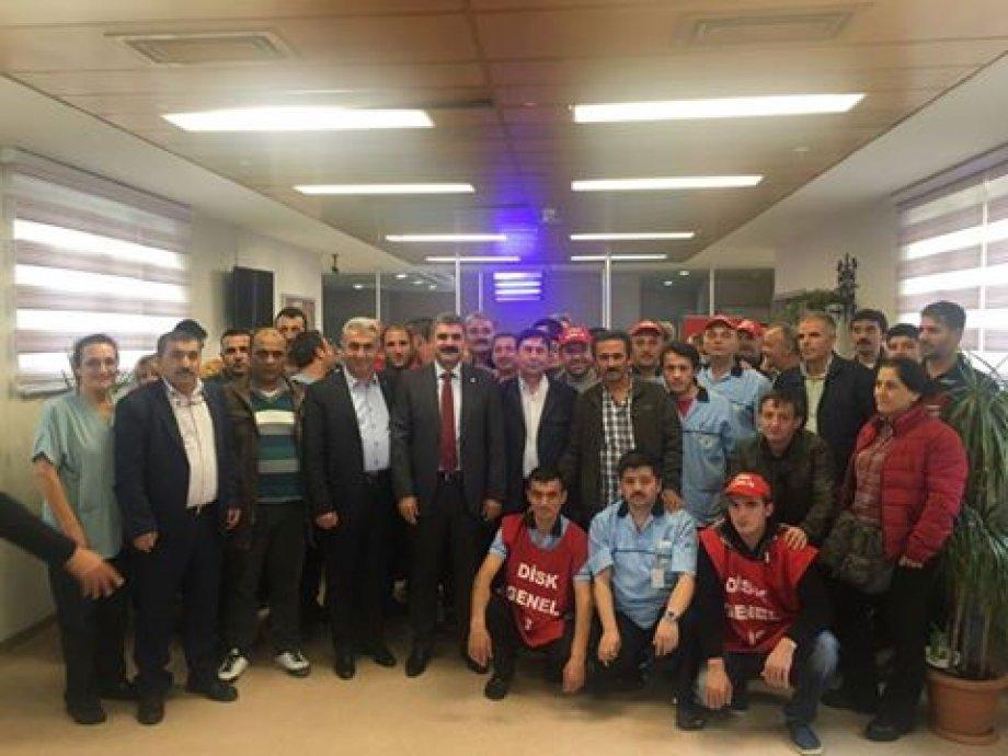 İstanbul Beyoğlu Kamu Hastaneleri Birliği'nde Çalışan İşçilerin İlk Toplu İş Sözleşmesi Sevinci