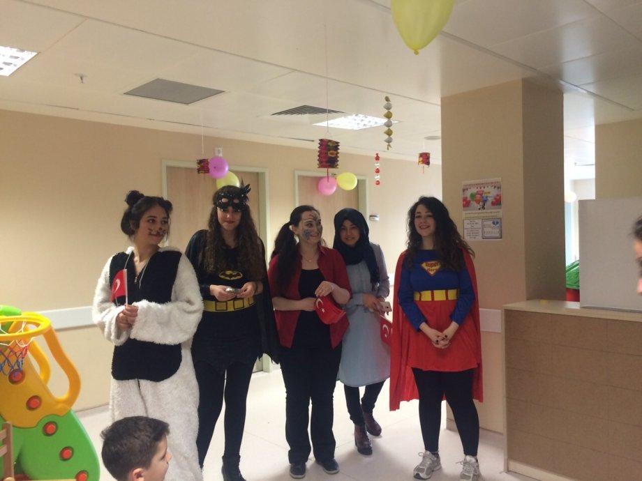 23 Nisan 2015 Ankara Üniversitesi Cocuk Cerrahi Kliniği