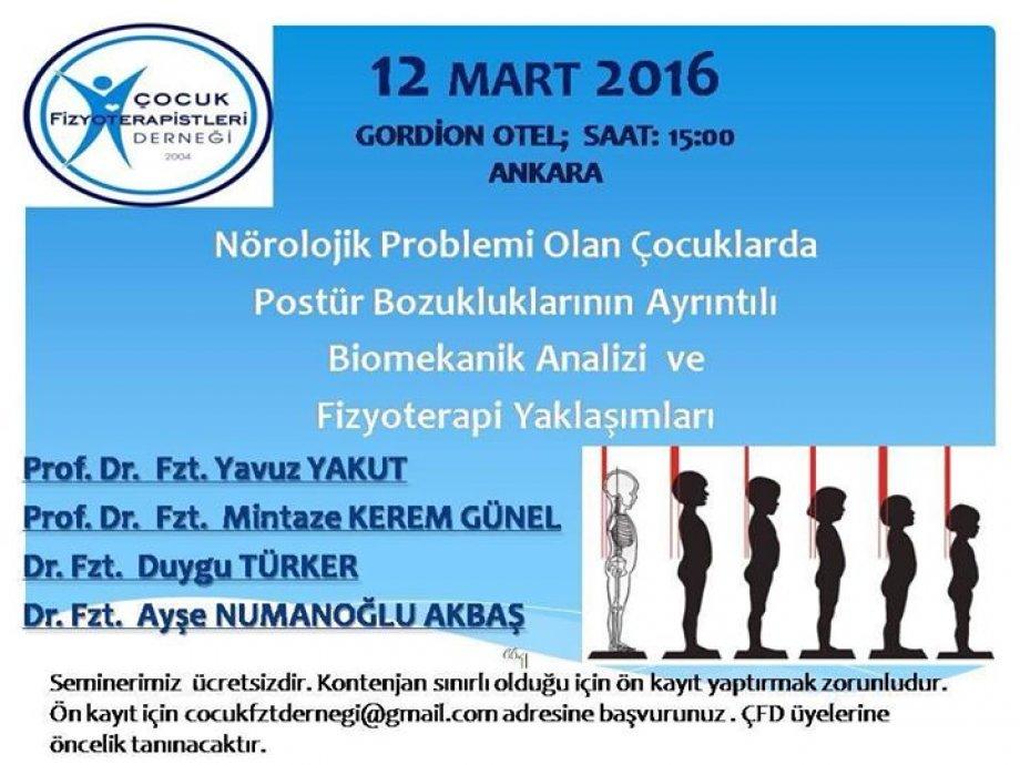 12 Mart 2016 semineri