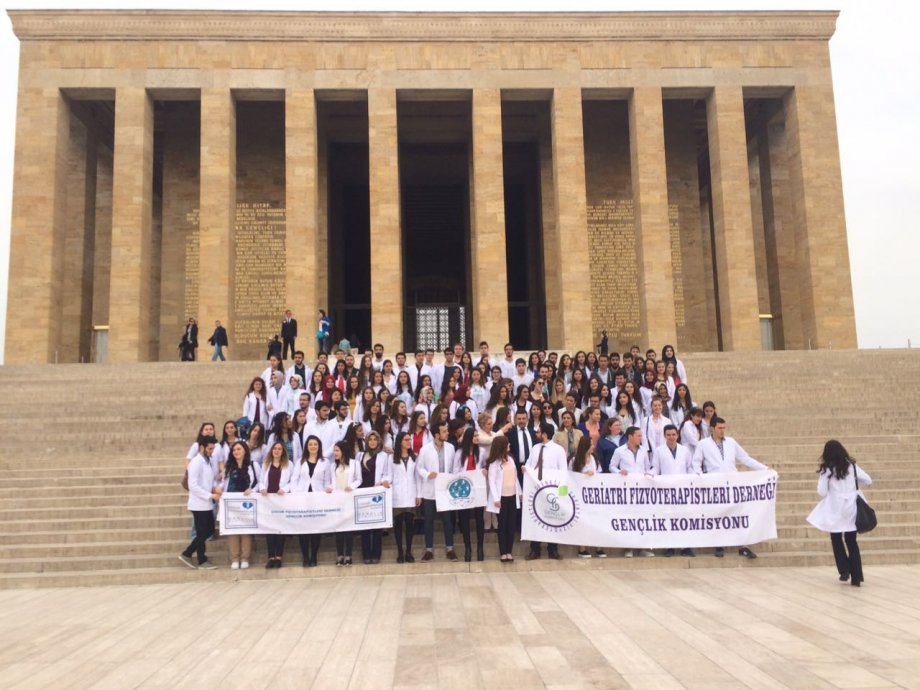 8 nisan 2016 Türkiye Fizyoterapistler Günü