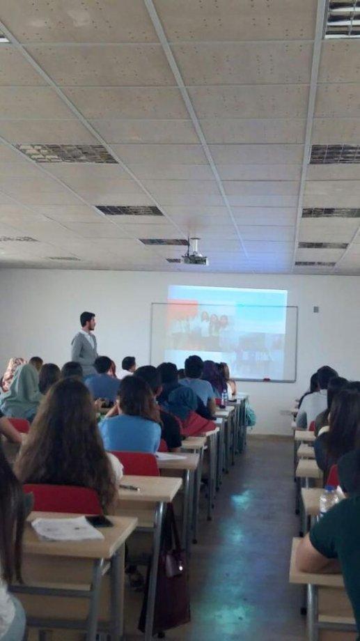 20 Nisan 2016 da Gençlik Komisyonları Üniversite Temsilcileri