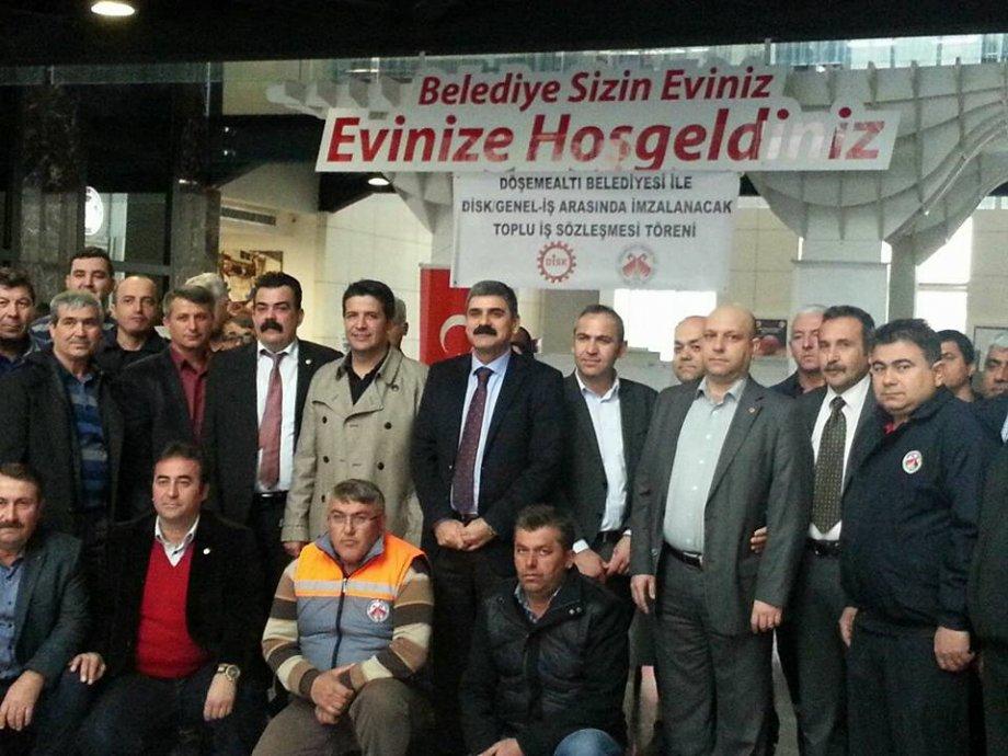 Döşemealtı Belediyesi Toplu İş Sözleşmesi'nde Taban Ücretlerde Artış