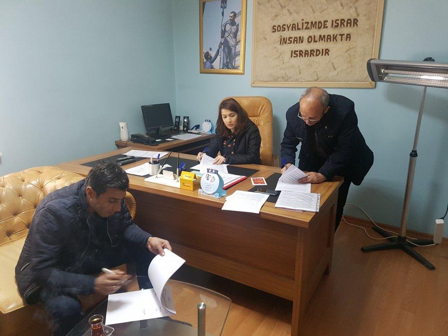 Diyarbakır Büyükşehir Belediyesi DİSKİ Toplu Sözleşmelerini İmzaladık