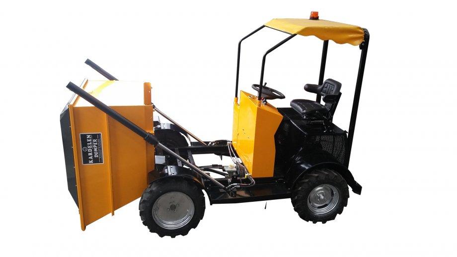 KBT-Beton Taşıma Arabası