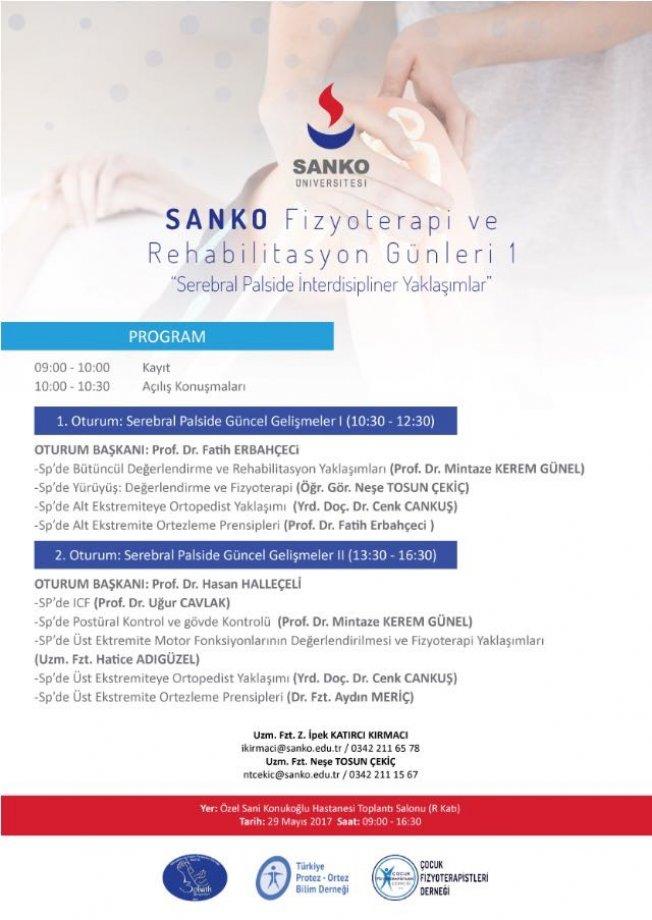 Sanko Fizyoterapi ve Rehabilitasyon Günleri 1