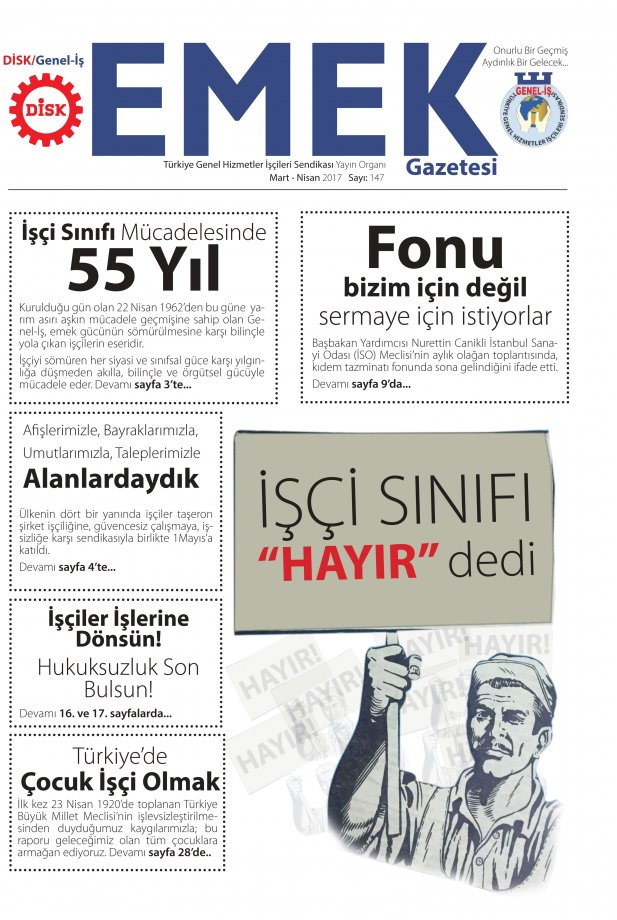 Emek Gazetesi 147. Sayısı Çıktı!