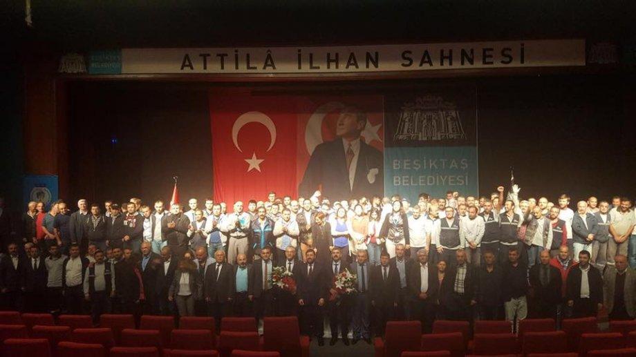 Beşiktaş ve Edremit'te Toplu İş Sözleşmesi Sevinci