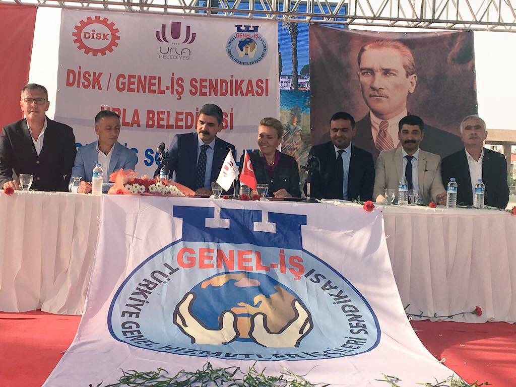 Urla Belediyesi'nde Toplu İş Sözleşmesi Sevinci