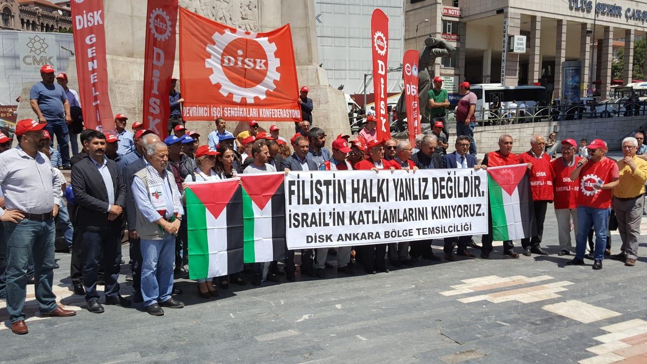 Filistin Halkı Yalnız Değildir!