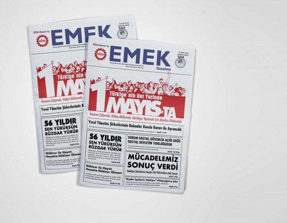EMEK Gazetesi'nin 153. Sayısı Çıktı