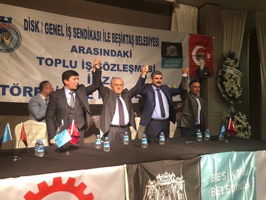 Beşiktaş Belediyesi ile Toplu İş Sözleşmesi İmzaladık
