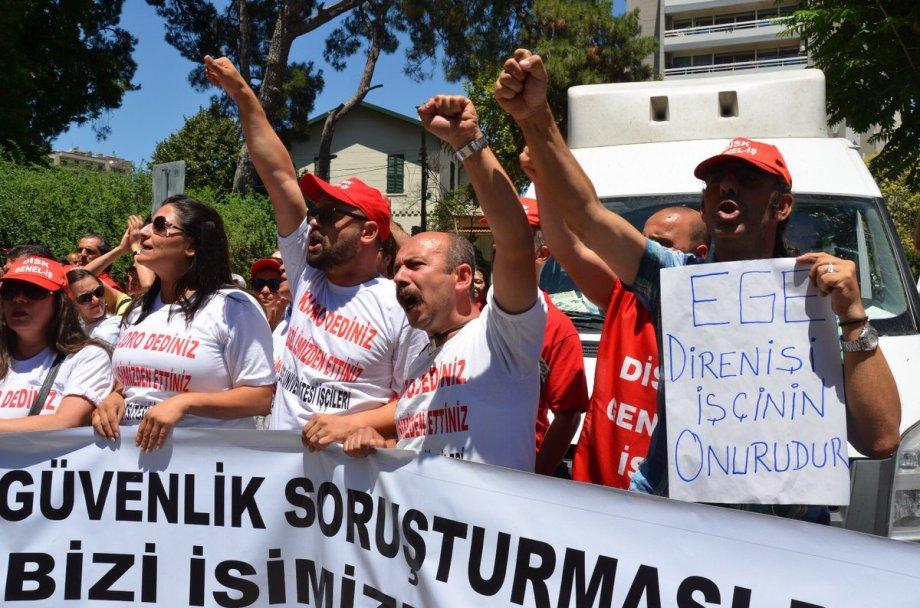 İzmir'de Tüm Kamu İşçilerine Eşit Kadro Talebimizi Bir Kez Daha Haykırdık