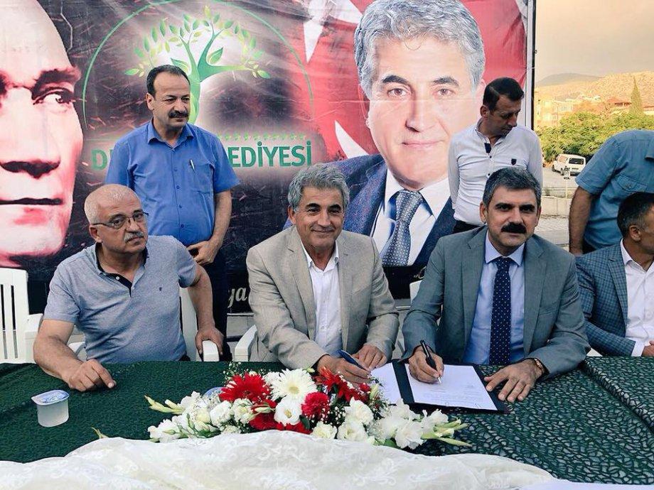 Defne Belediyesi'nde Toplu İş Sözleşmesi İmzaladık