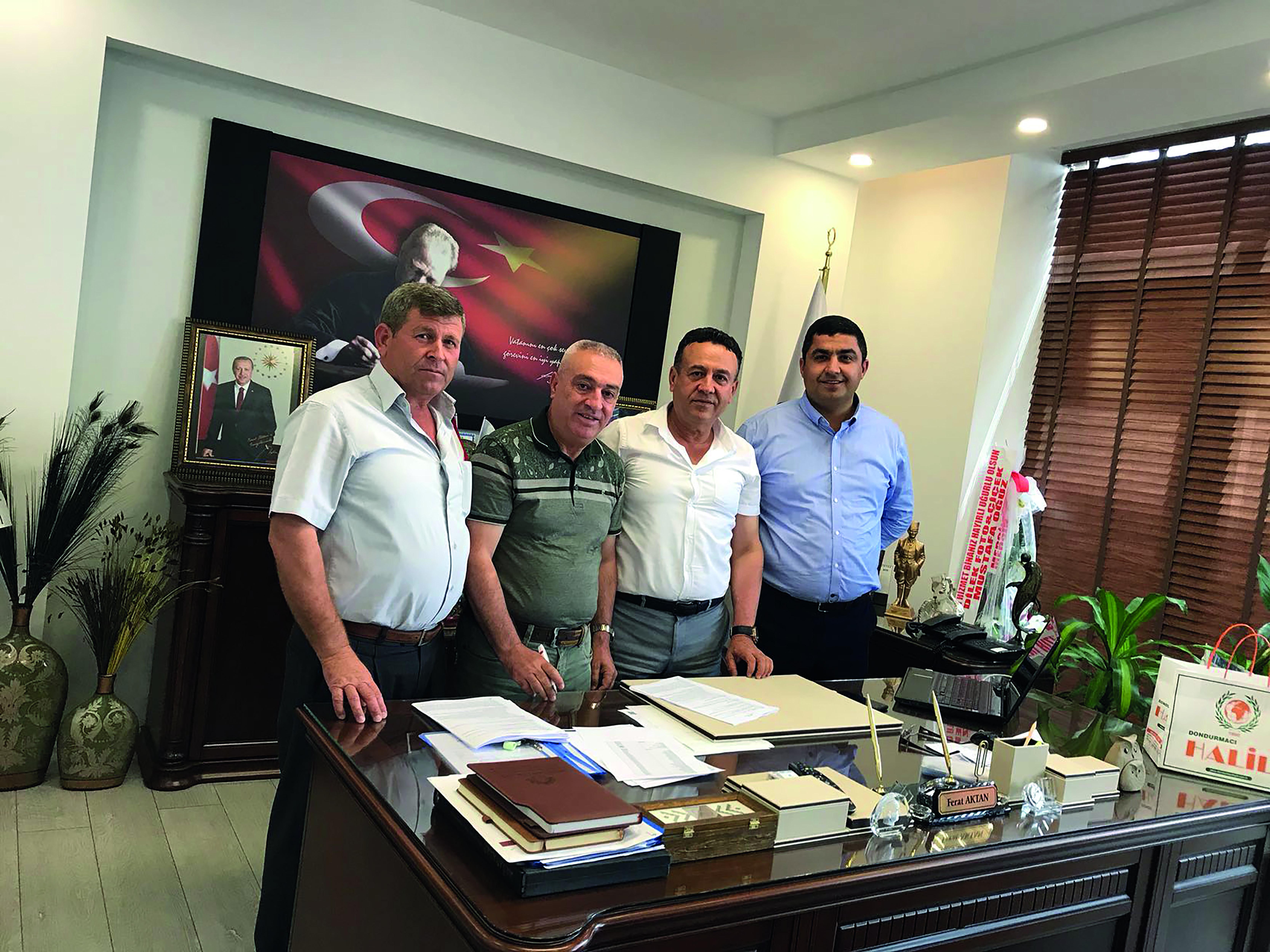 Aydıncık Belediyesi'nde Toplu İş Sözleşmesi İmzaladık