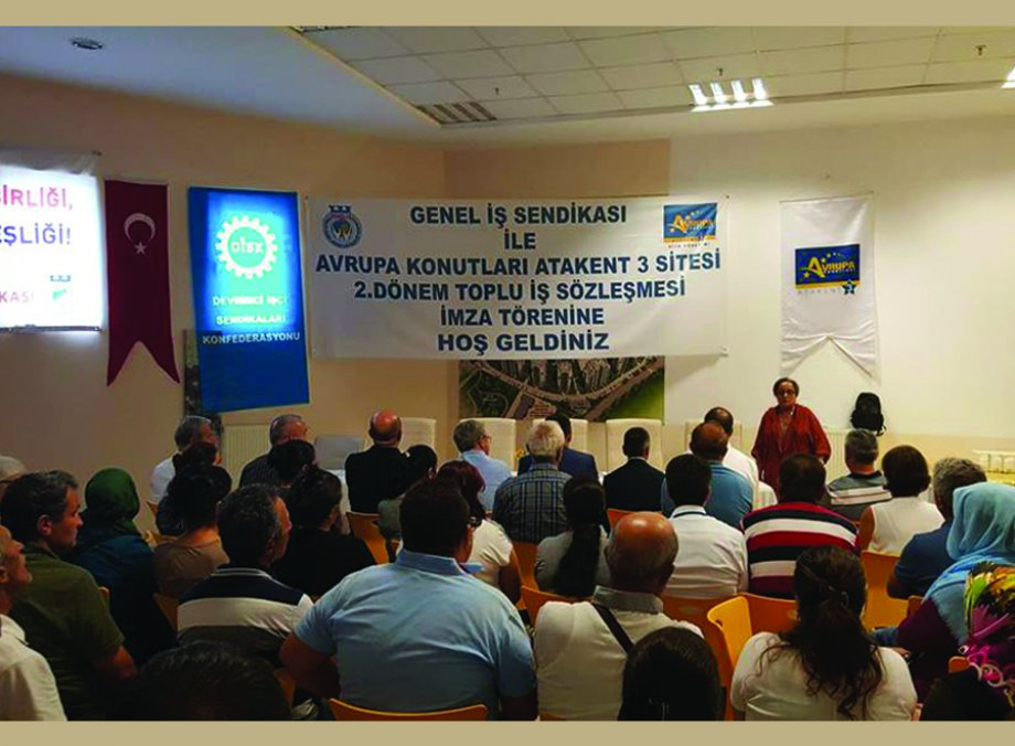 Avrupa Konutları Atakent 3 Site Yönetimi ile Toplu İş Sözleşmesi İmzaladık