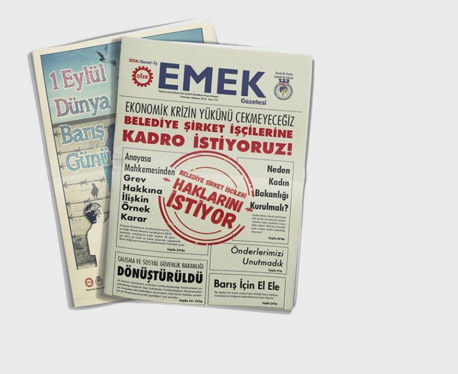 EMEK Gazetesi'nin 155. Sayısı Çıktı