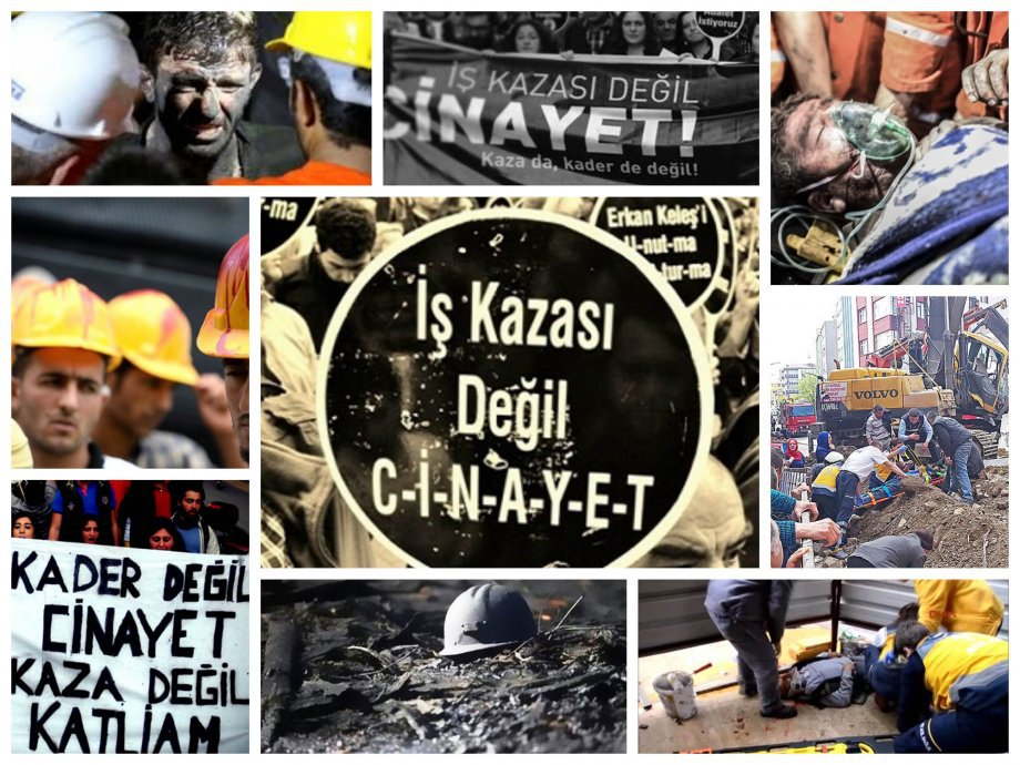 İş Cinayetleri Sürüyor; İnsanca Çalışma Koşulları ve Can Güvenliği İsteyen İşçiler Tutuklanıyor!