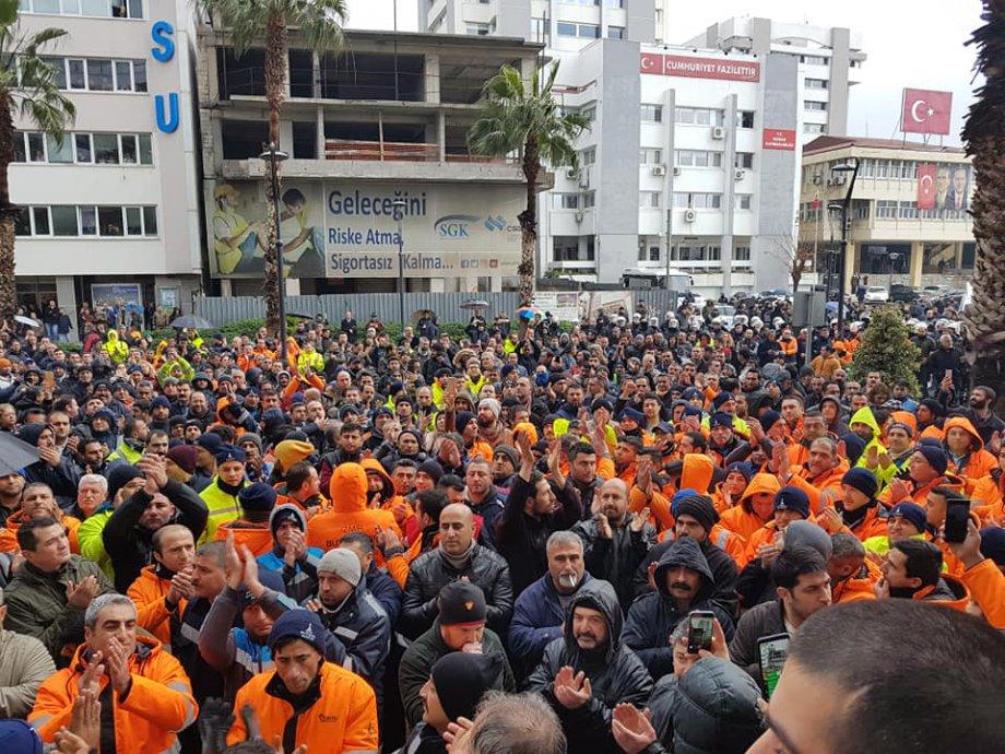 İzmir'de Belediye İşçisi Haklıdır