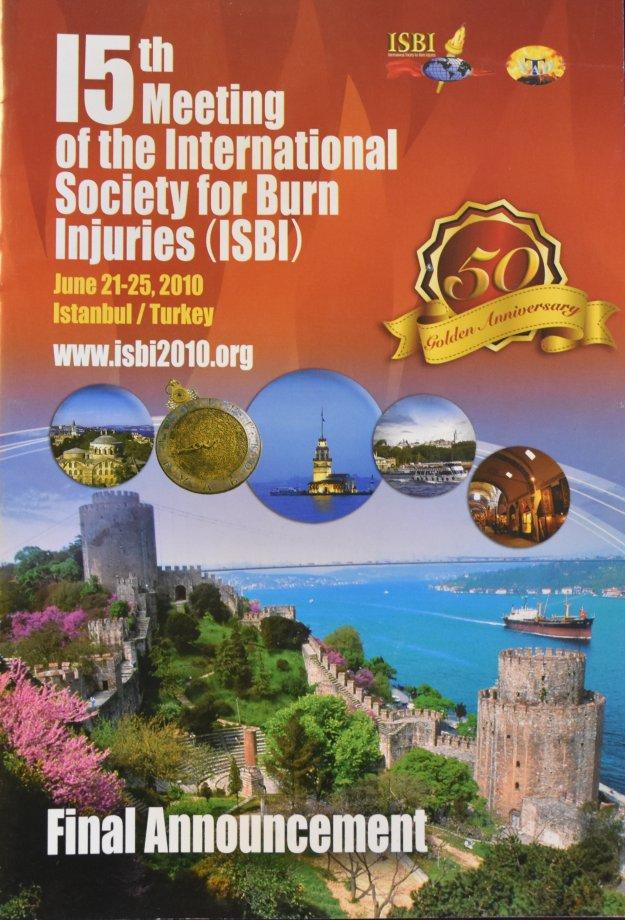 ISBI, Uluslararası Yanık Tedavi Kongresi, İstanbul 2010