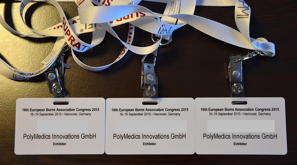 16. Avrupa Yanık Kongresi / 16-19 Eylül 2015 Hannover, Almanya