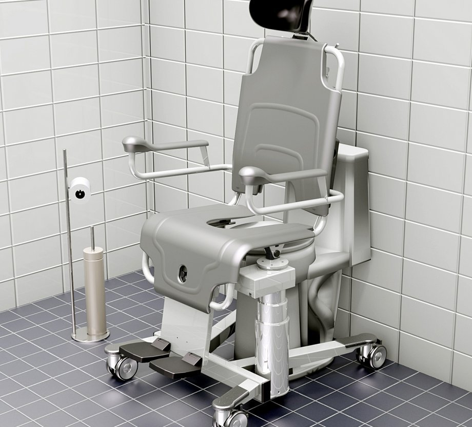 TR 1000 Patient Showering Chair