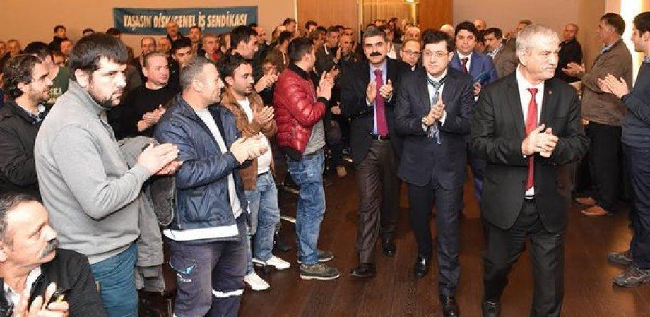 Beşiktaş Belediyesi'nde Toplu Sözleşme Sevinci