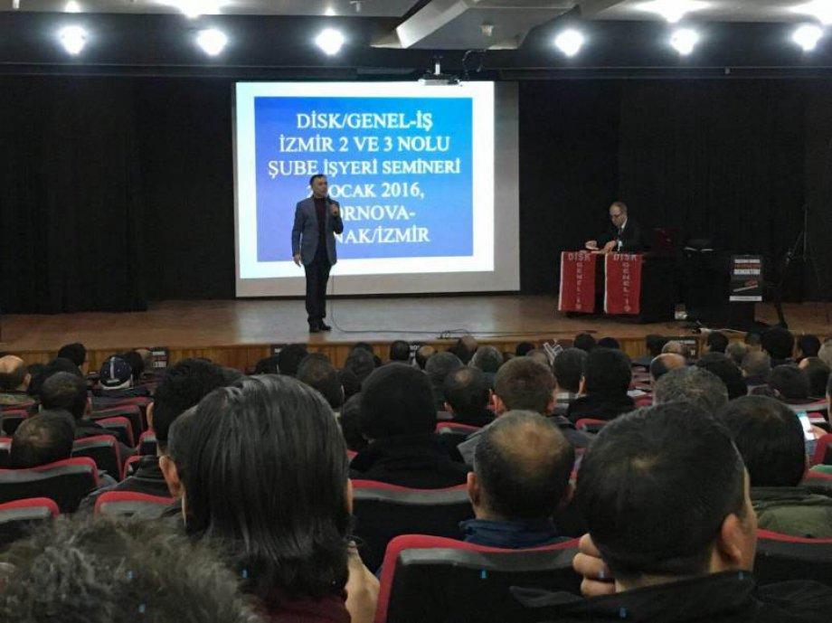 Sendikamız Eğitimlerinin Dördüncüsü İzmir'de Gerçekleştirildi