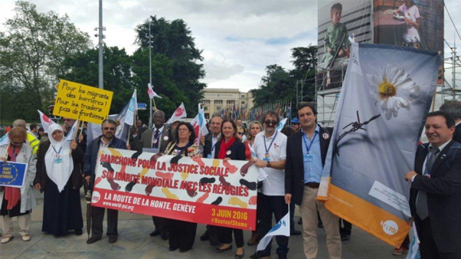 DİSK Cenevre'de ILO Konferansına Katıldı