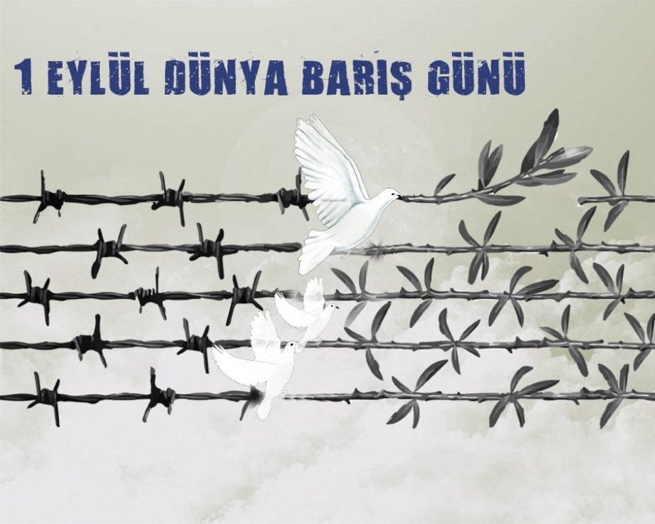 1 Eylül Dünya Barış Günü'nde Barış ve Demokrasi Talep Ediyoruz