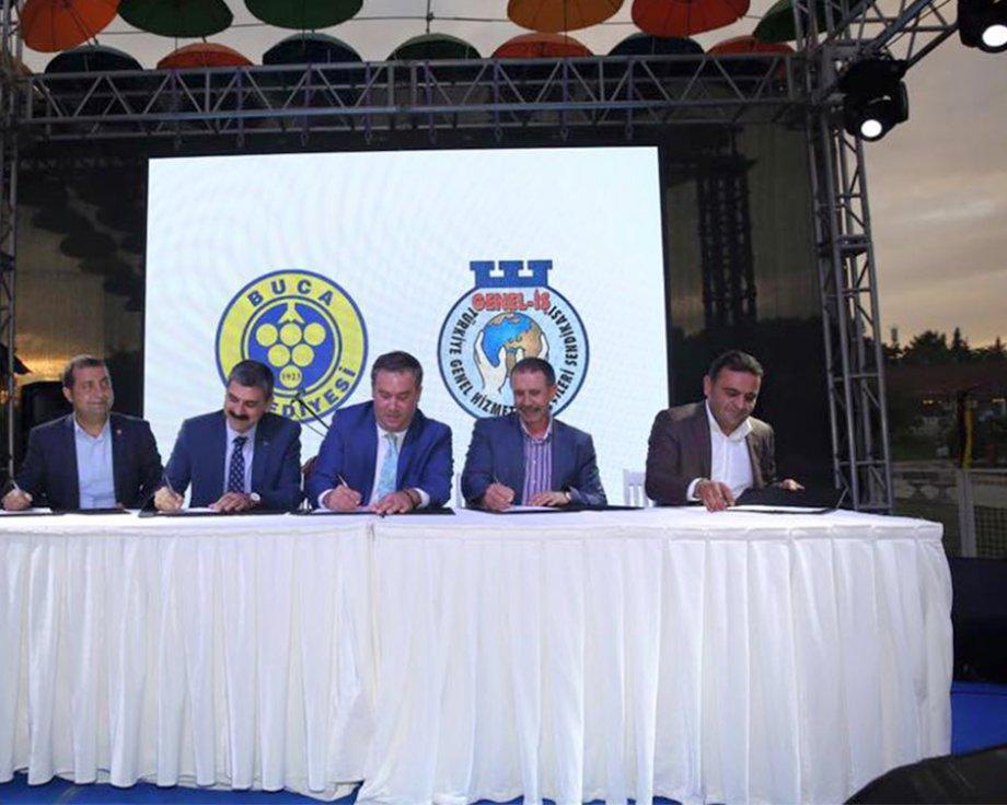 İzmir'de Toplu İş Sözleşmeleri İmzaladık