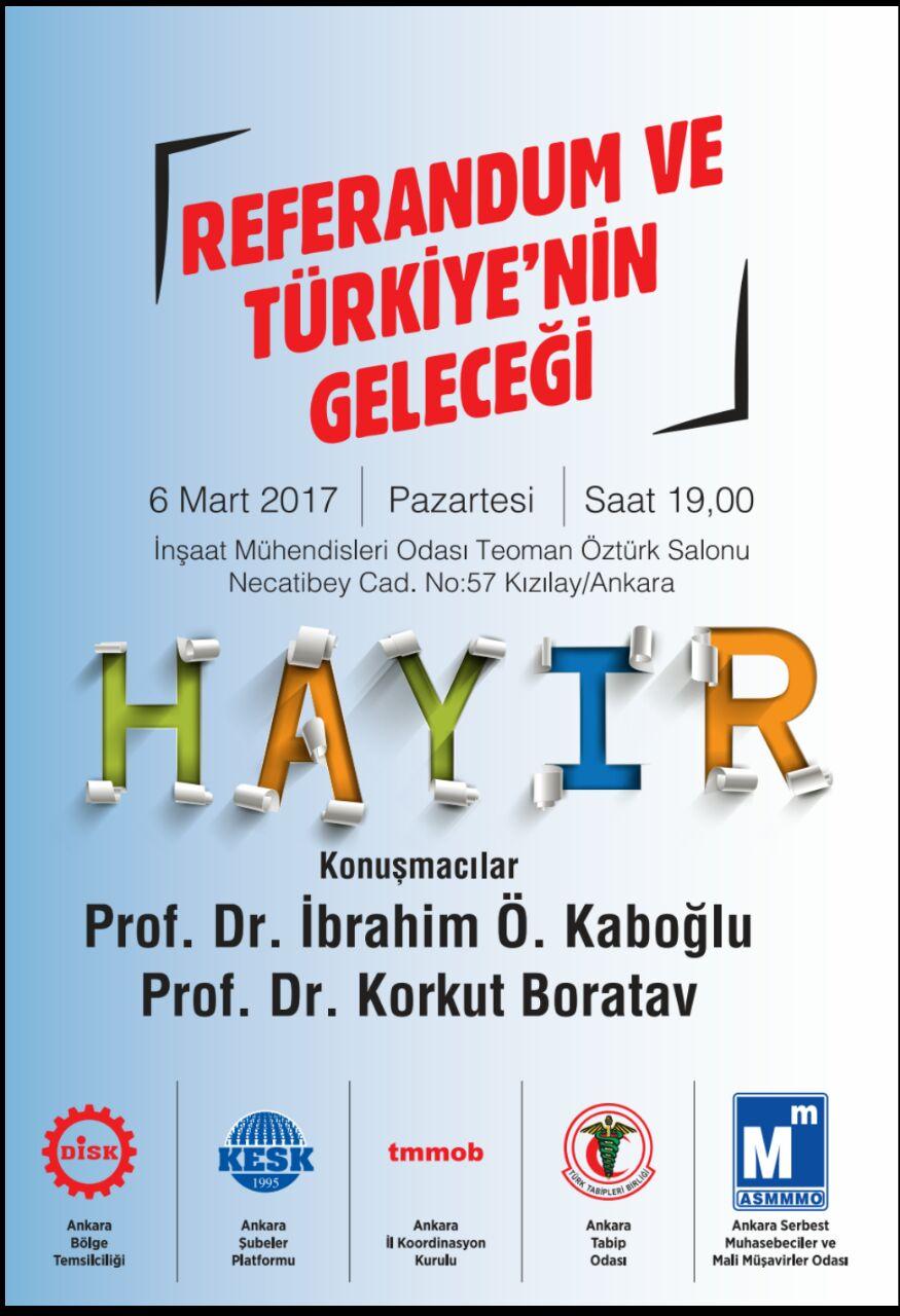 Referandum ve Türkiye'nin Geleceği Paneli