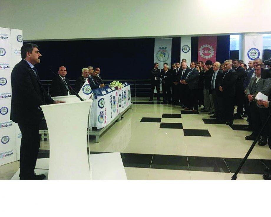 Muğla Büyükşehir Belediyesi ve Menteşe Belediyesi ile Toplu İş Sözleşmesi İmzaladık