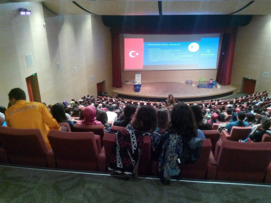 18 Nisan 2015 Acıbadem Üniversitesi