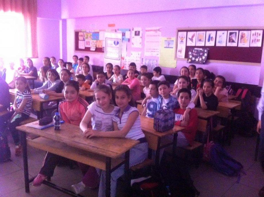 19 Nisan 2016 da Ayşe Zeki Sayan İlkokulu
