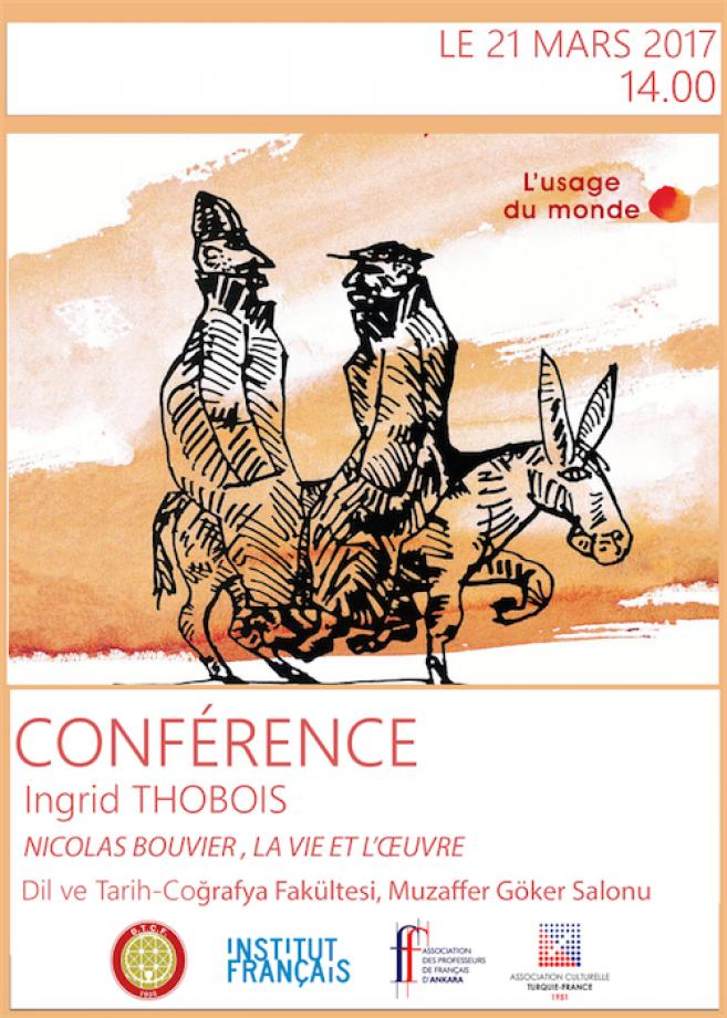 CONFERENCE LE 21 MARS 2017 14.00