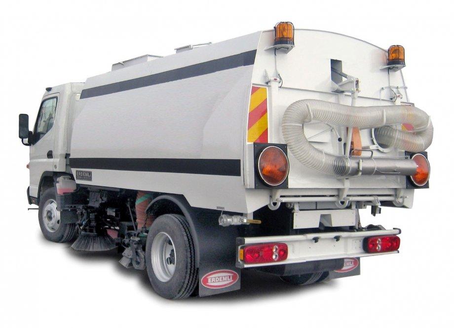 Road Sweper 5 m³