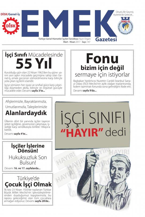 Emek Gazetesi 147. Sayı