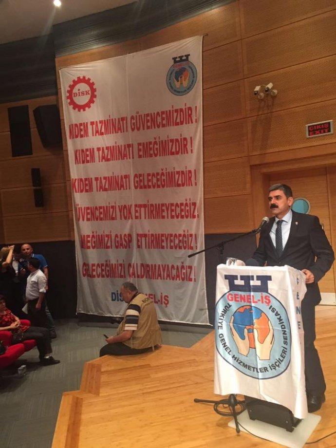 Kadıköy Belediyesi'nde Toplu İş Sözleşmeleri Töreni