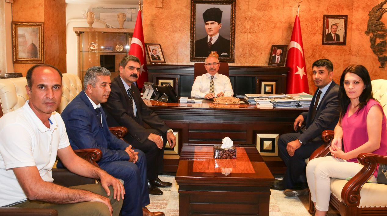 Mardin Valisi ile Görüştük, Üyelerimizle Buluştuk