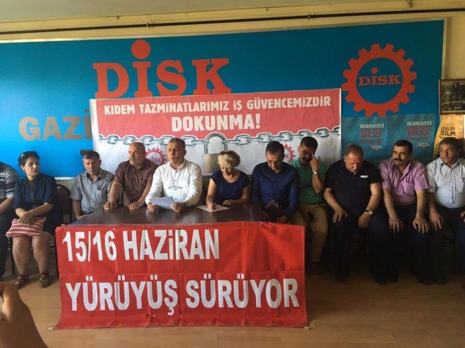 15-16 Haziran'da Alanlarda Haykırdık: Kıdem Tazminatı Gaspına, Taşeron Köleliğine ve OHAL Adaletsizliğine Son!