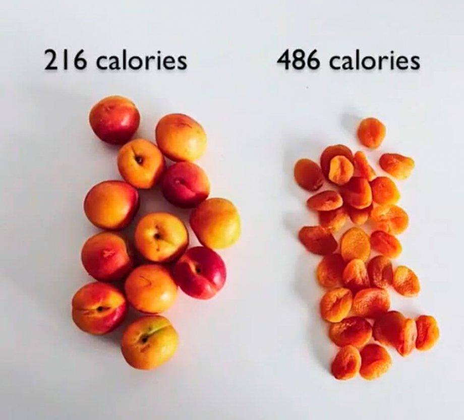 Yaş Meyve VS Kuru Meyve