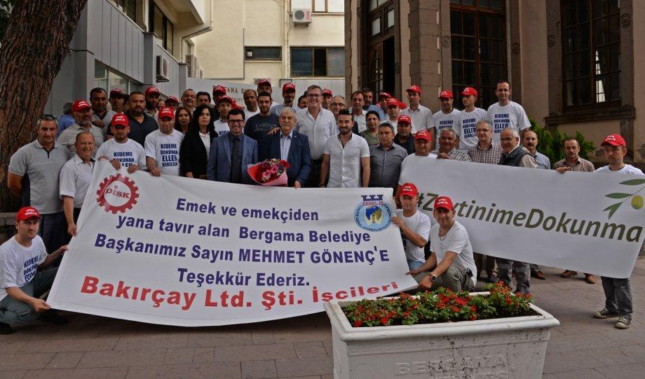 Bergama Belediyesi Toplu İş Sözleşmesinde İşçilere Kıdem Tazminatında Artış