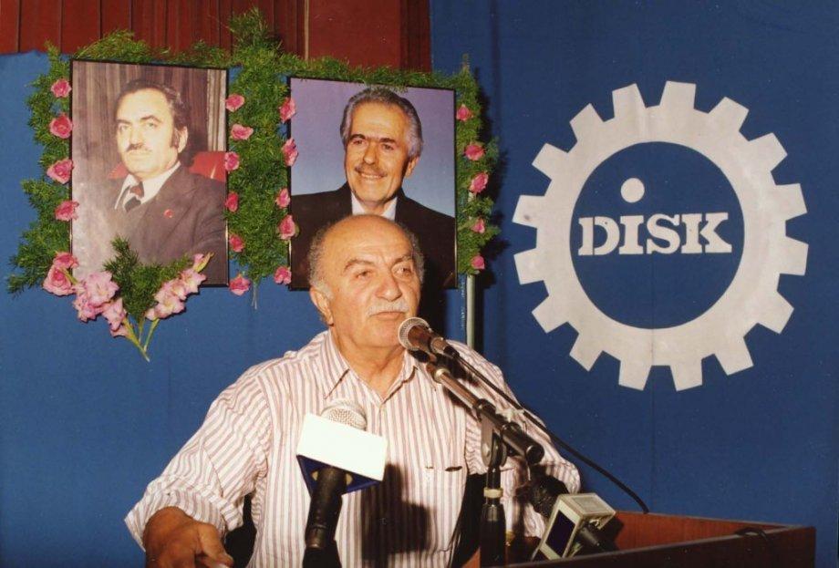DİSK Genel Başkanlarından Kemal Nebioğlu'nu Saygıyla Anıyoruz
