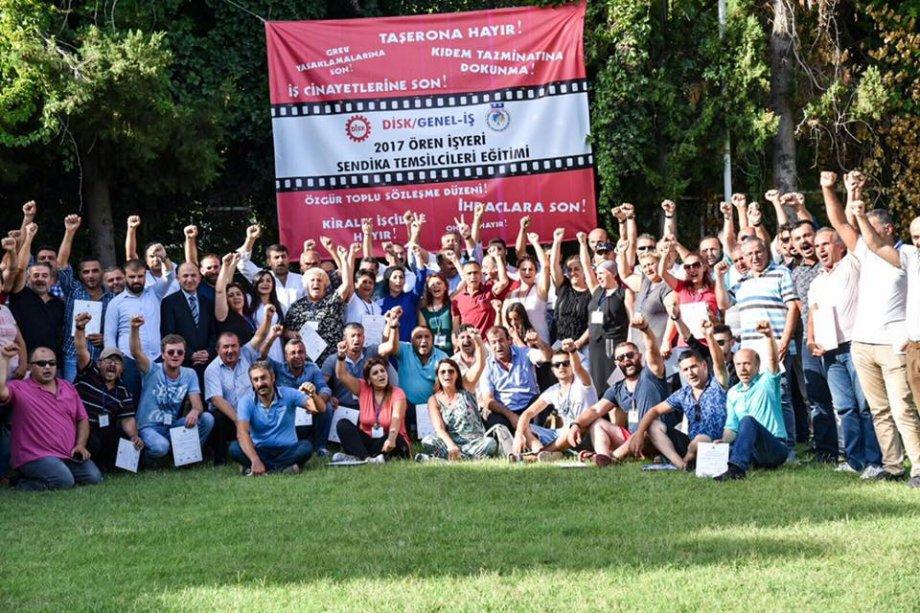 2017 Ören İşyeri Sendika Temsilcileri Eğitim Semineri Başarıyla Tamamlandı