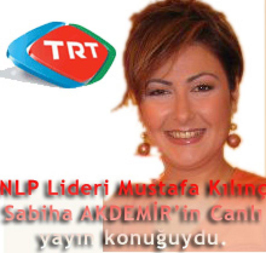 """NLP Lideri Mustafa Kılınç 02.04.2009'da """"Günbegün"""" Programının 13. kez Canlı Yayın Konuğuydu"""