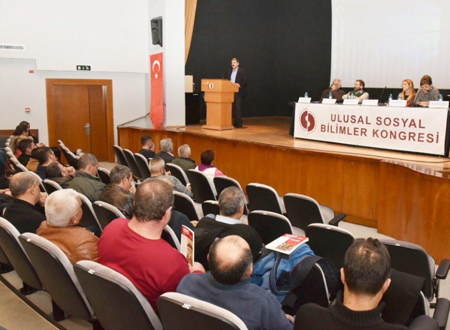 15. Ulusal Sosyal Bilimler Kongresi DİSK/Genel-İş Oturumu Yapıldı